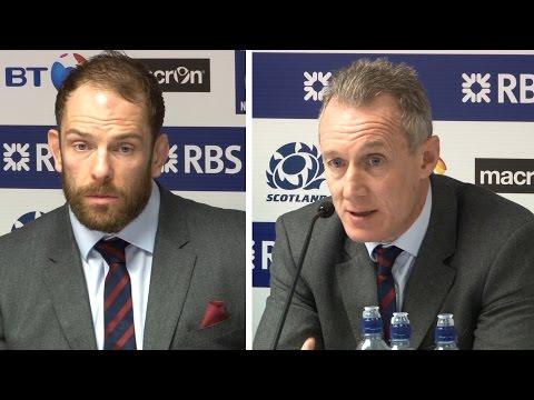 Scotland 29-13 Wales - Rob Howley & Alun Wyn Jones Full Post Match Press Conference - Six Nations