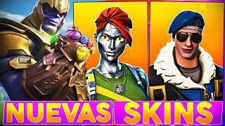 🔴 TESTING *NEW SKINS* AND *SKINS FREE* *THANOS MODE* +445 WINS! - FORTNITE Battle Royale