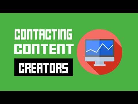Contacting Content Creators - The #1 Thing Game Developers Forget