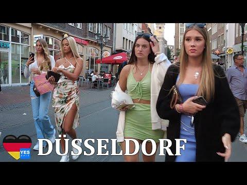 🇩🇪 DÜSSELDORF DISTRICT GERMANY 26 JUNE 2021 [FULL TOUR]