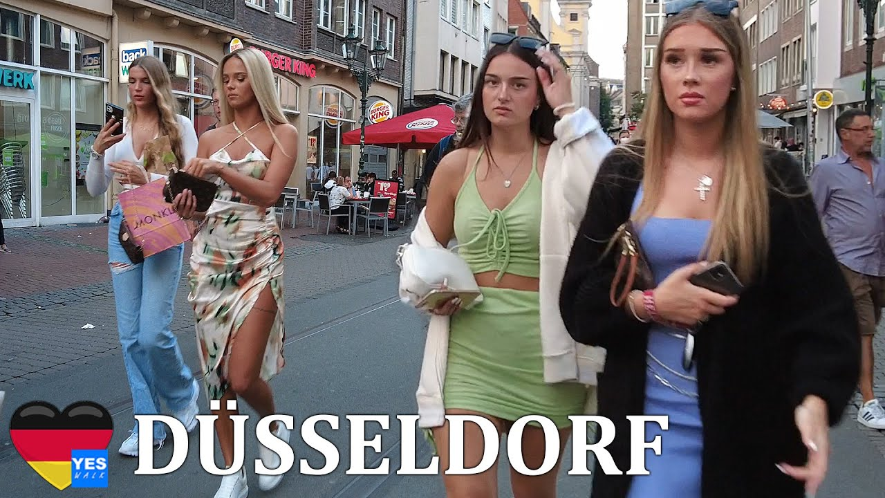 Download 🇩🇪 DÜSSELDORF DISTRICT GERMANY 26 JUNE 2021 [FULL TOUR]