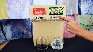 How to make Cold-Drink Dispenser Machine At home