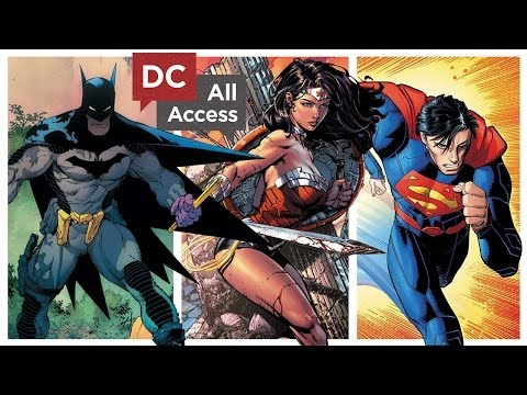 The Art of The New 52: Batman, Superman, Wonder Woman, & Justice League