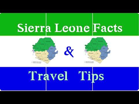 SIERRA LEONE FACTS & TRAVEL TIPS 2018 |FudiiA