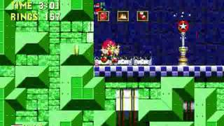 "Sonic 3 & Knuckles: Project Angel (Genesis) - Longplay as ""Knuckles"""