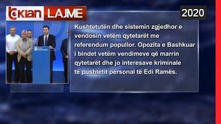 Koalicioni opozitar: Ndryshimet, vetem me referendum | Lajme - News