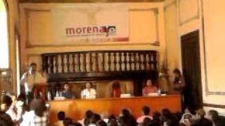 Gerardo Fernandez Noroña en Oaxaca, 20/02/12. (VERDADES AL ESPURIO Y AL PRIAN.)