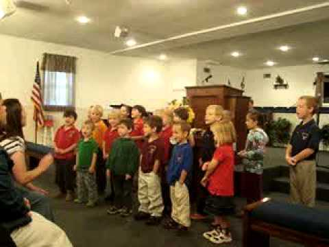"Upson Christian Academy singing ""II Timothy 1:7"""