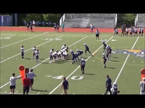 Littleton Tigers 7th Grade Football vs Worcester 8-27-17