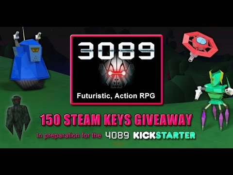 First Look At 3089 Game And 150 Steam Keys Giveaway