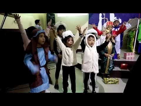 Zane's Christmas Presentation @ Faithway Christian School Kinder1