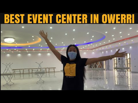IMO VLOG WHAT A 1000 CAPACITY EVENT CENTER LOOKS LIKE IN NIGERIA  BEST EVENT CENTER IN OWERRI