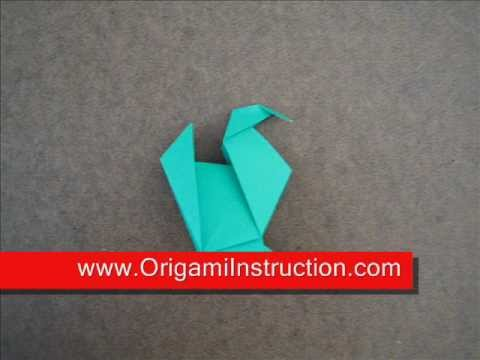 Origami Instructions Origami Turkey Youtube