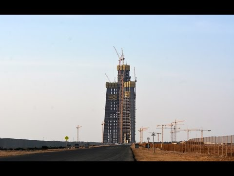 Jeddah / Kingdom Tower - World's Tallest Building - 1000m+ Tall Building! 2017 Update