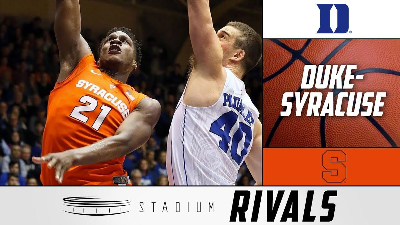 Duke Syracuse Rivalry History Of This Budding Acc Showdown Stadium Rivals