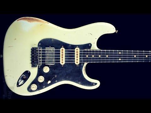 Blues Guitar Backing Jam Track   Eb Minor