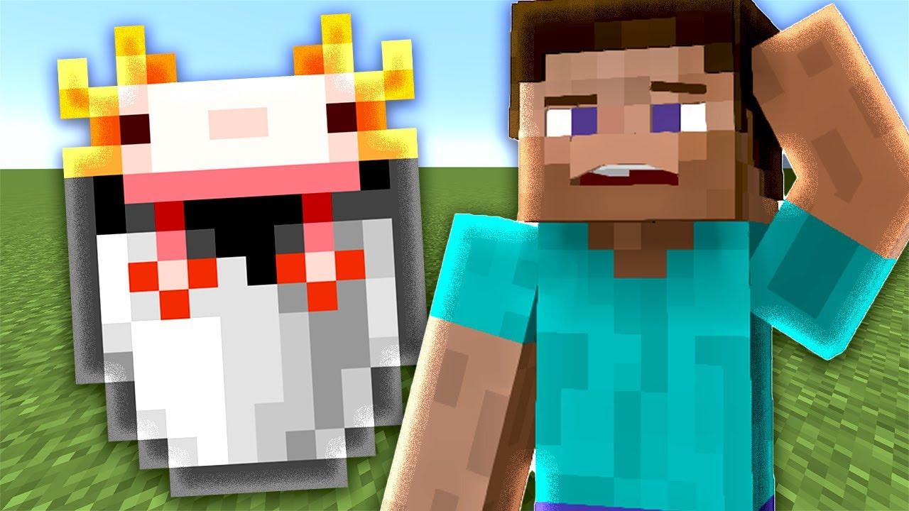 Minecraft: You can cook Axolotls?!