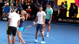 Australian Open 2017 - Kids day fun with Roger Federer, Novak , Milos & Daria FHD