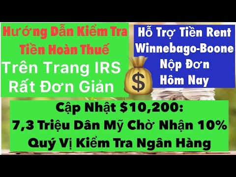 Quý Vị Kiểm Tra Ngân Hàng Tiền Miễn Thuế $10,200|7.3Triệu Dân Mỹ Chờ Nhận 10% Tax Refund|Rental Link