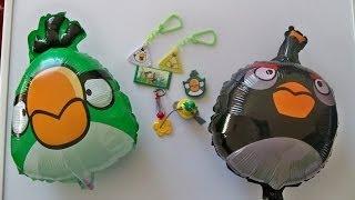 Розпакування 8 Яйце сюрприз, сюрприз Тото Nestle Angry Birds Злий іграшки Птиці