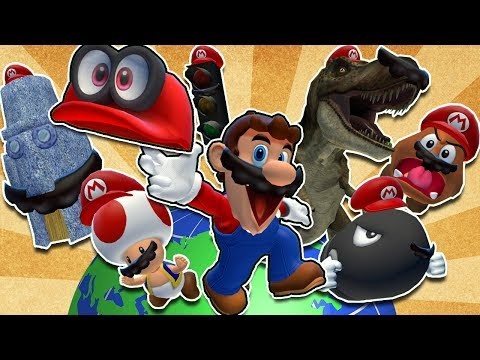 SMG4: Stupid Mario Odyssey