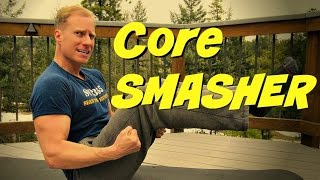 10 min Core SMASHER Workout! No Equipment Bodyweight Hard Abs Exercises