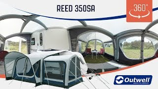 Outwell Reed 350SA Air Awning - 360 video (2019)
