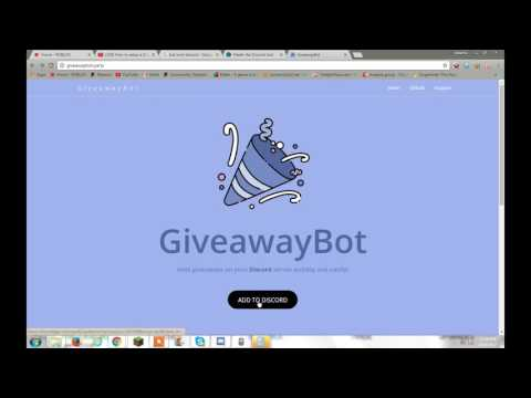 how to get giveaway bot! (discord) - YouTube