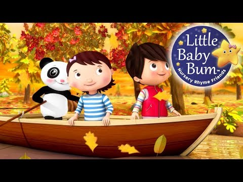 Row Your Boat | Little Baby Bum | Nursery Rhymes for Babies | Songs for Kids