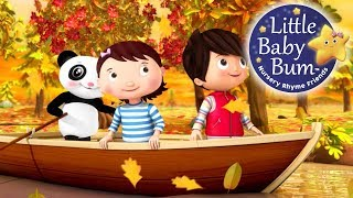 Row Your Boat | Learn with Little Baby Bum | Nursery Rhymes for Babies | Songs for Kids