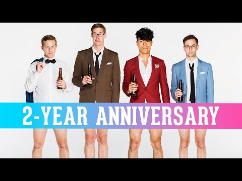 Thumbnail: The Try Guys React To Their First Videos • 2-Year Anniversary