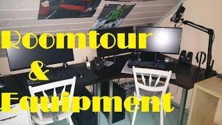 Roomtour + Equipment Vorstellung [UHD-4K] Kleiner Trip durch meine Zimmer