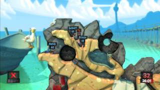 Lets Play Worms Revolution Part 2 PS3 HD