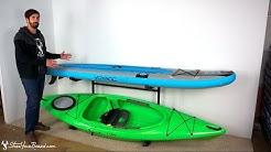 Kayak & SUP Rack | Indoor-Outdoor Storage | StoreYourBoard