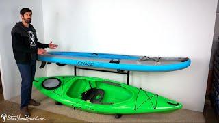 Kayak & SUP Rack Indoor-Outdoor Storage StoreYourBoard