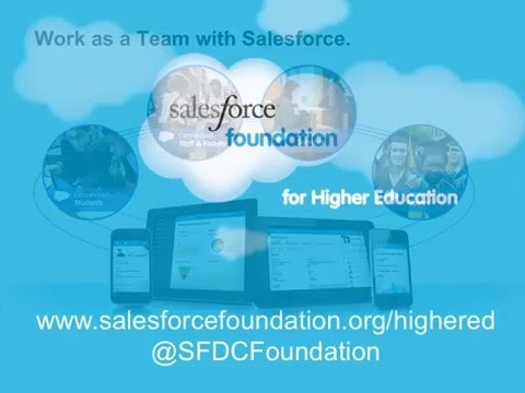 Private cloud solution| Cloud infrastructure | Enterprise CRM for Higher Education from Salesforce