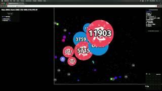 Agar.io - Multibox Takeover #22