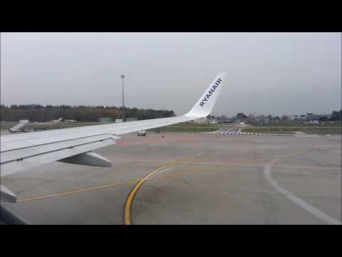 Ryanair -  flight from Warsaw Modlin to Porto - lot Warszawa/Modlin - Porto - 05.11.2016