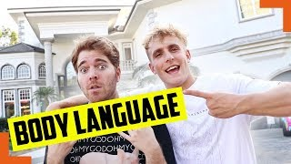 What secrets does body language reveal in Shane Dawson's The World of Jake Paul interview?
