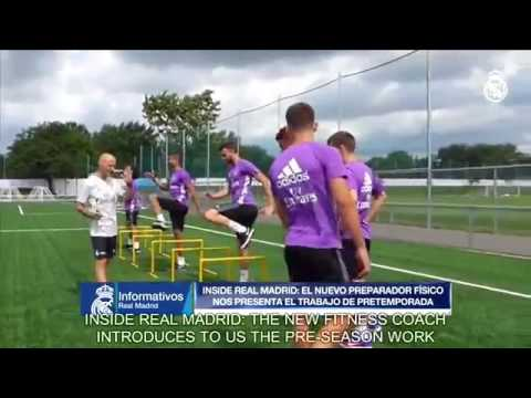 Real Madrid's New fitness