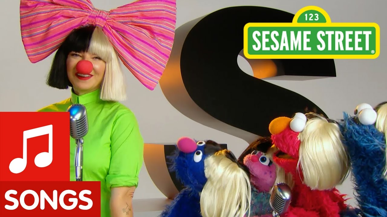 Sesame Street: S is for Songs with Sia - YouTube