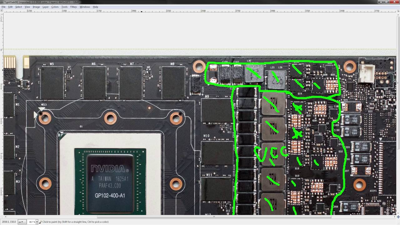 The NEW Nvidia GTX TITAN X PCB breakdown + voltage and power mods