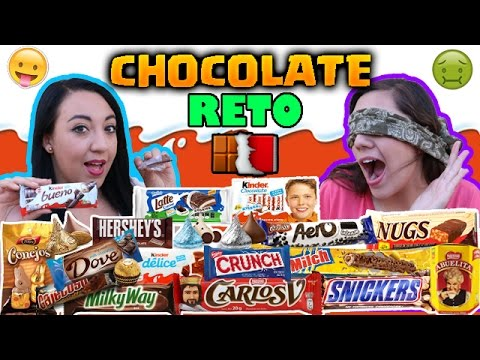 RETO ADIVINA EL CHOCOLATE / Terminamos muy mal - Ingenio KD