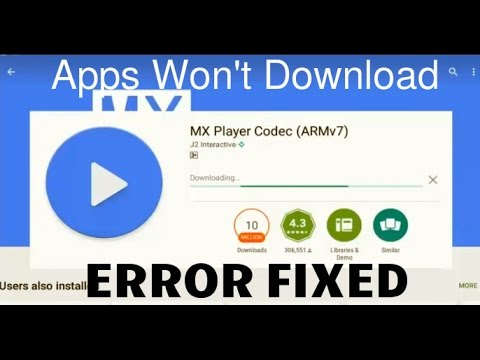 How To Fix Apps Won T Download From Google Play Store