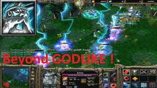 DotA 6.83d - Zeus Beyond GODLIKE ! #2 (A lot of kills)