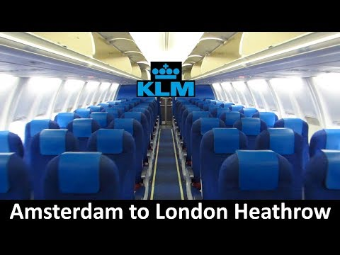TRIP REPORT | KLM 737 | Amsterdam to London Heathrow | Economy Class [Full HD]