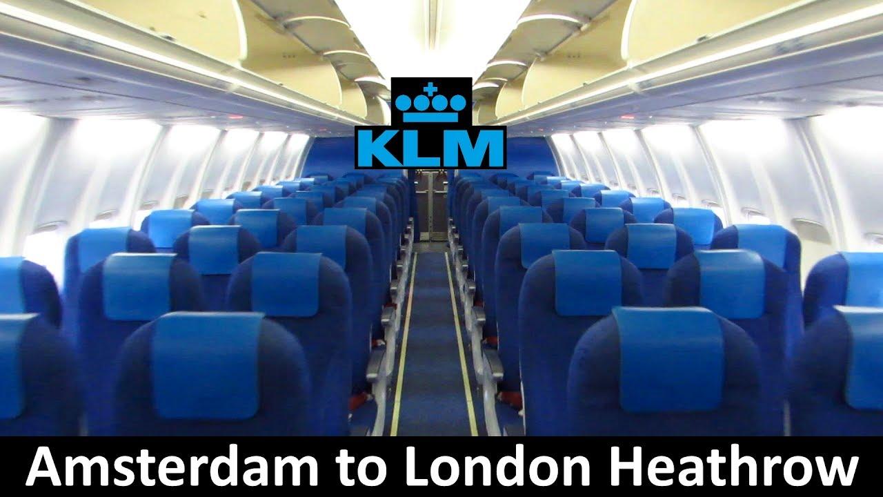 Trip report klm 737 amsterdam to london heathrow for Amsterdam economica