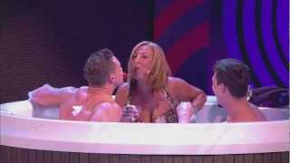 Repeat youtube video Joe Swash's Mum and A Naked Kieran Hayler in the Hot Tub
