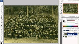 Уроки Adobe Photoshop CS3 - урок 5 - Работа со слоями, режим смешивания(, 2013-04-11T17:55:29.000Z)
