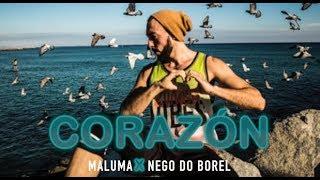"""CORAZÓN"" Maluma feat. Nego do Borel  | Zumba Fitness"